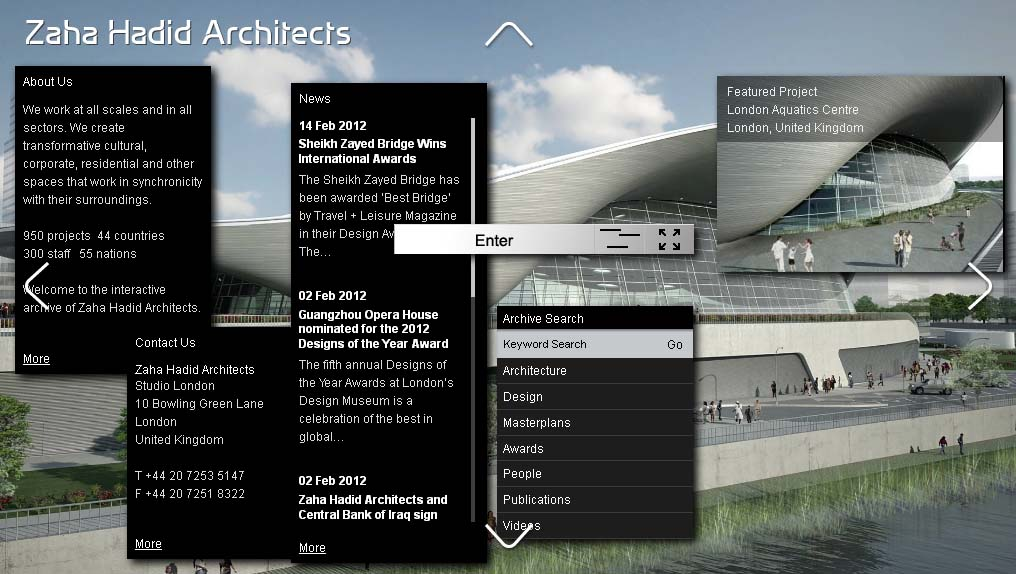 Top architecture company websites the global grid for Best architects websites
