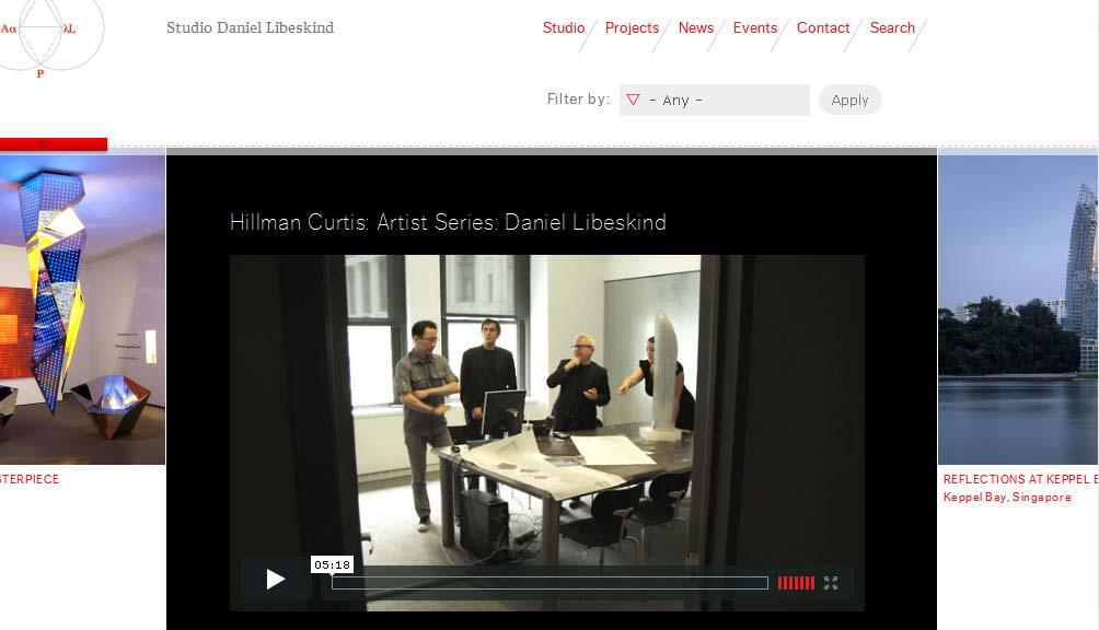 Interactive Daniel Liebskind The Global Grid