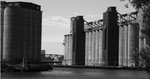 Monumentality of the Grain Elevators along Buffalo River