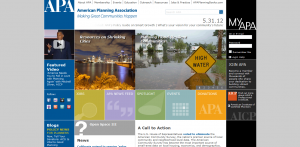 american planning association home page