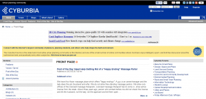 cyburbia home page
