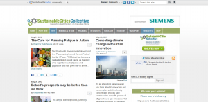 sustainable cities collective home page