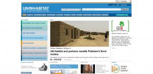 un-habitat home page
