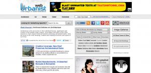 weburbanist homepage