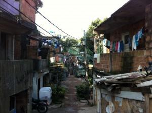 A Street in Rocinha