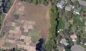 Aerial view of Hmong farm plots. Image credit: Google Earth