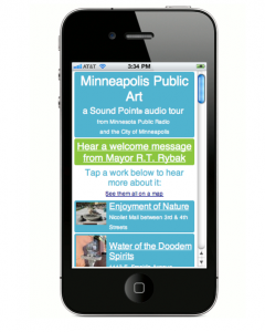 MPR Sound Point on a smart phone. Image Credit: http://listenhere.wirenode.mobi/page/312