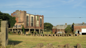 Fulton Gas Works, Richmond Virginia, Brownfield