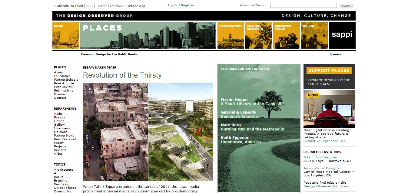 Top 20 international landscape architecture design for Best architects websites