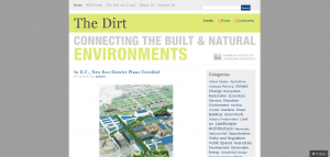 American Society of Landscape Architects The Dirt Blog