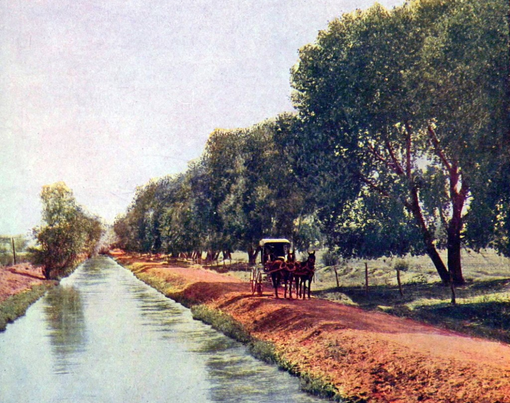Historical Photo of Phoenix Canal