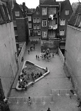 Aldo van Eyck playground in Amsterdam post WWII