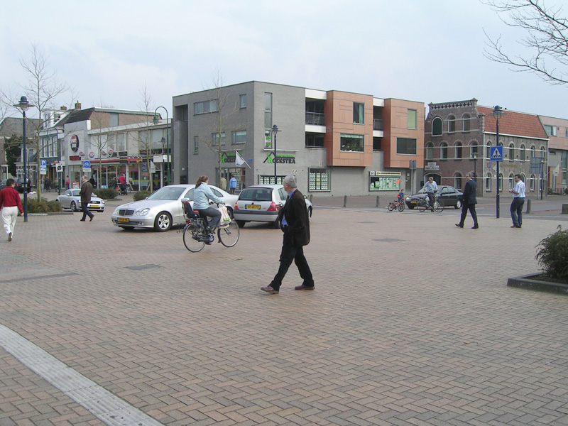 Shared Space in Netherlands Woonerf