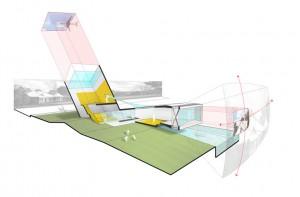 The Mix House by architects Joel Sanders, Karen Van Lengen, and Ben Rubin