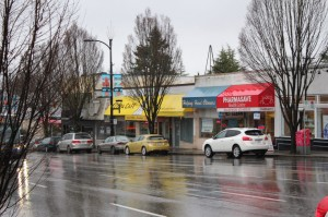 A section of Cambie Street merchants that survived the four years of construction
