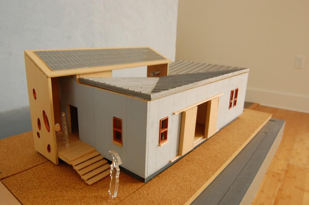 Sustainable house model
