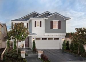 KB Home California Subdivision Net Zero House
