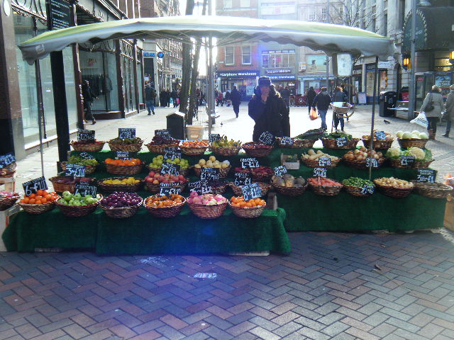 Food Stand Nottingham United Kingdom