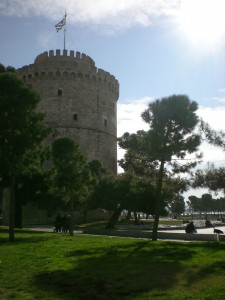 White Tower Square , Thessaloniki, Greece
