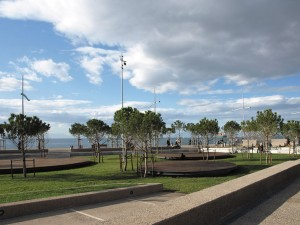 The new waterfront, Garden of Music,Thessaloniki, Greece