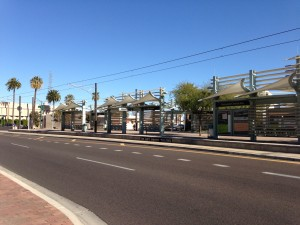Phoenix Light Rail Stop