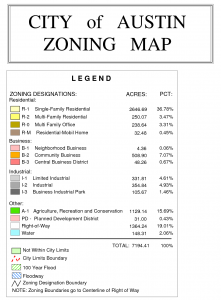 Zoning Map Key