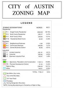 Zoning Map Key