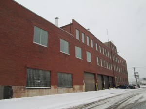 The former Peer Foods meatpacking plant