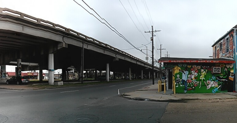 Rethinking an Urban Freeway in New Orleans, Louisiana