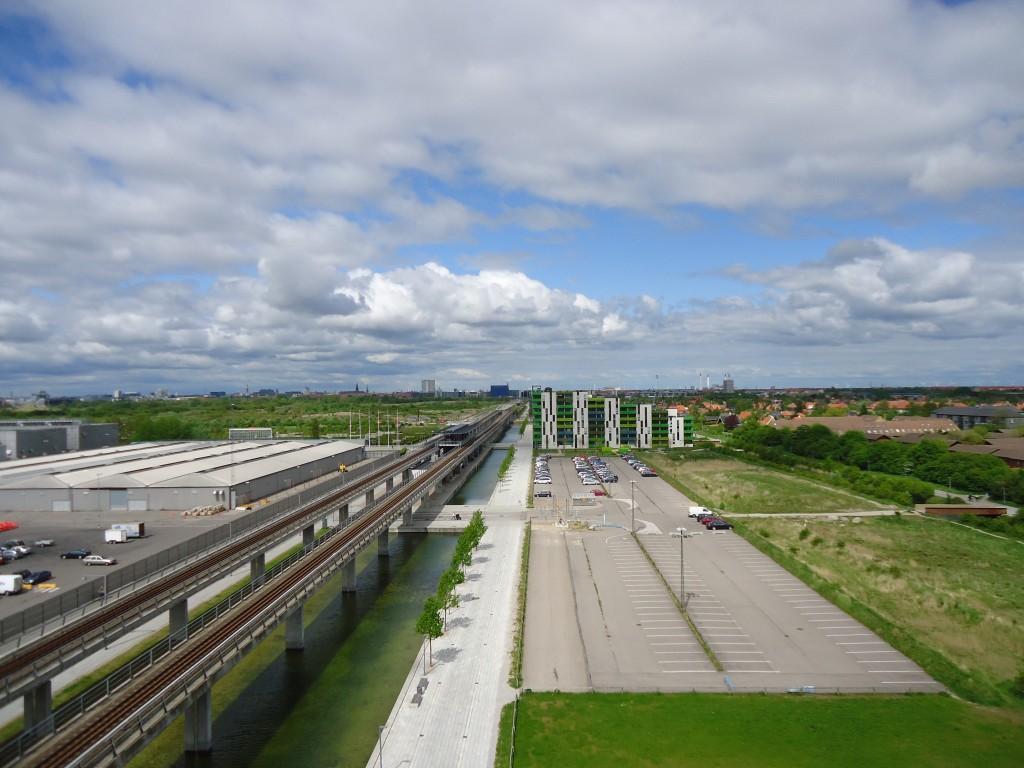 Farmland Consumption and New Development in Orestad, Denmark