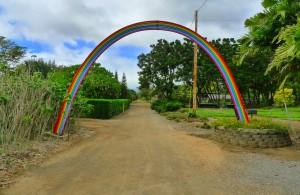Entrance to the Oahu Urban Garden Center