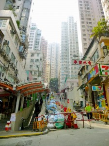 The Mid-Levels Escalator Systems Hong Kong