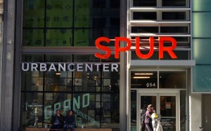 SPUR's Urban Center from the outside