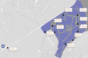 NTUA carpooling map