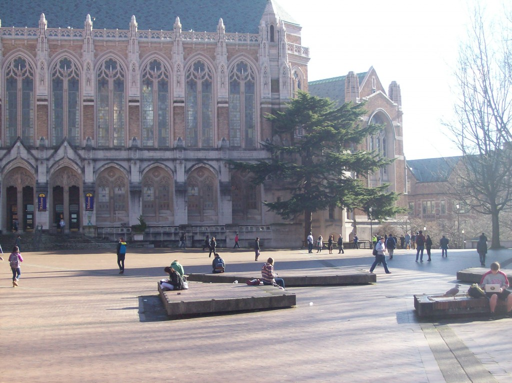 Red Square at University of Washington