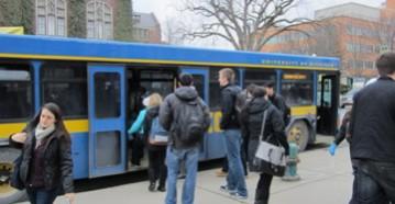 Go Blue on a Bus: Subsidizing Public Transit at the University Level