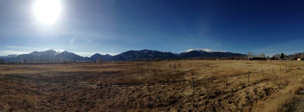 Looking west towards Mt. Princeton