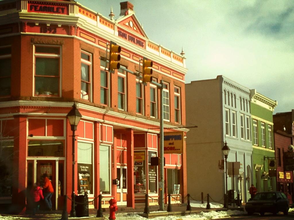 Downtown Leadville, Colorado (Lake County)