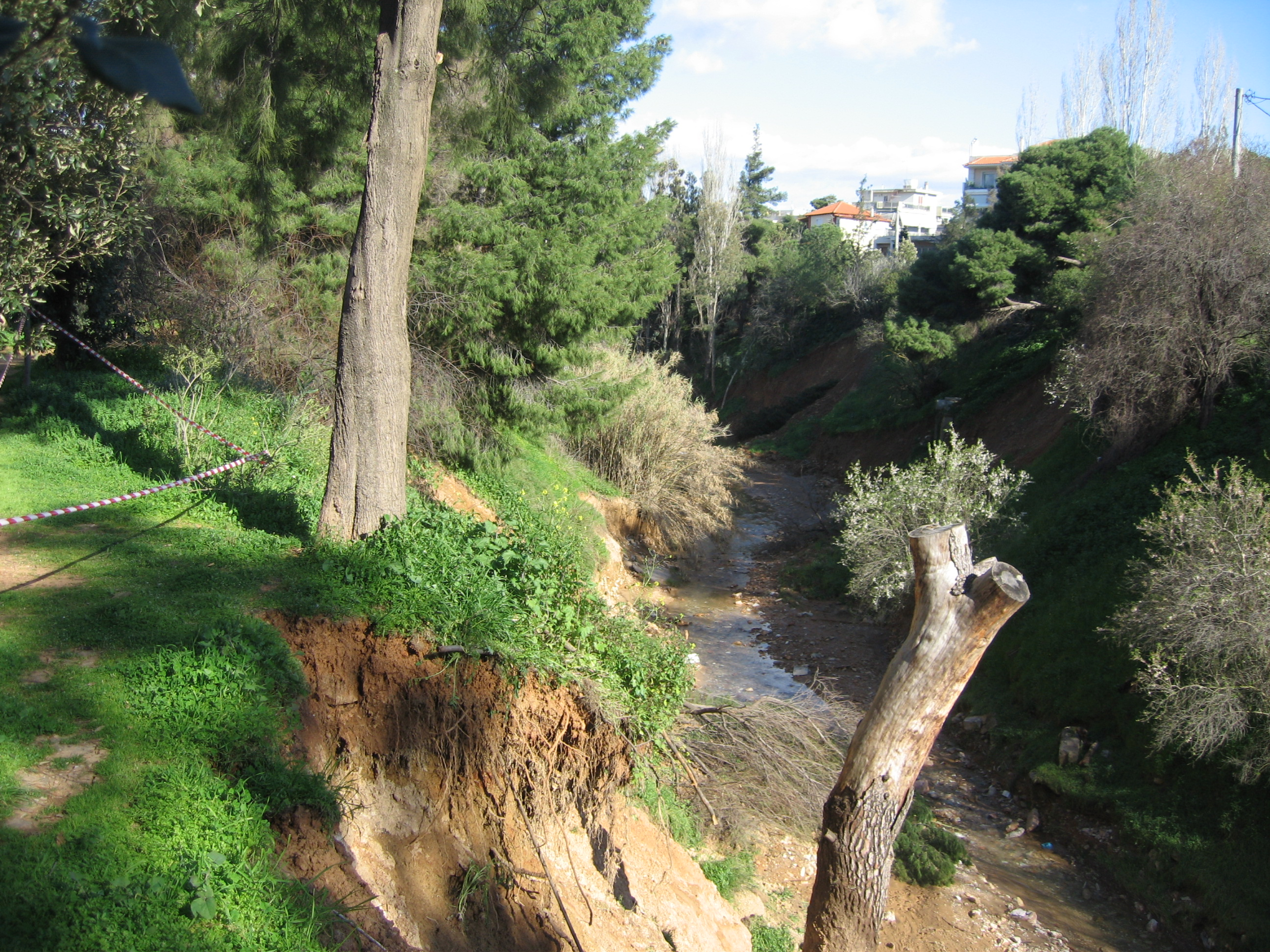 Chalandri stream-one of the few left in Athens