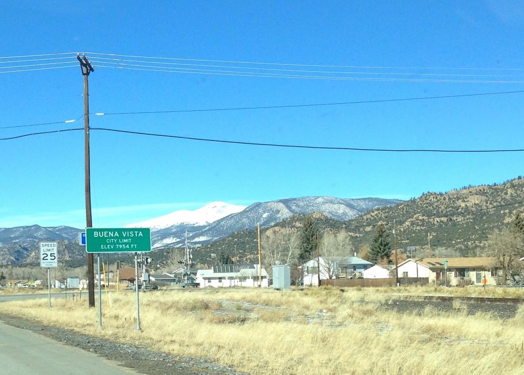 Buena Vista, Colorado wayfinding