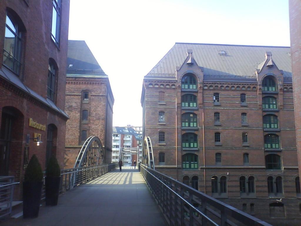 Speicherstadt in HafenCity