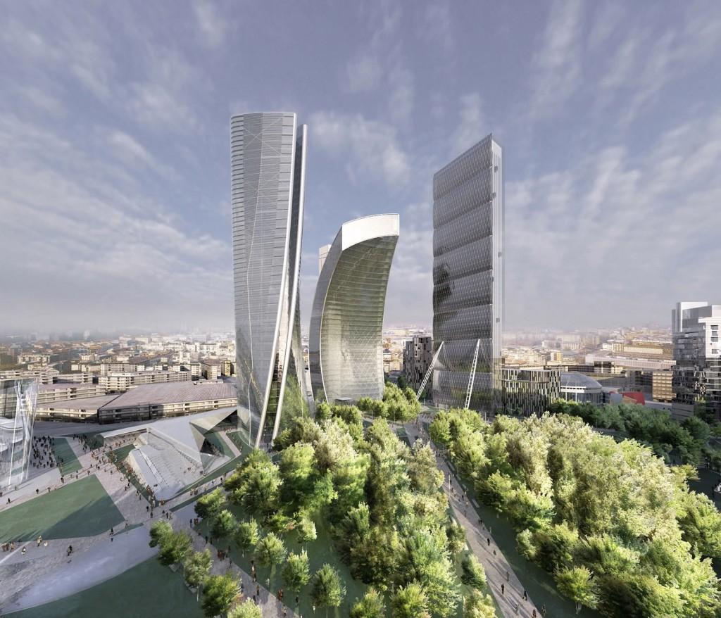 City Life Milan Hadid, Libeskind, Isozaki