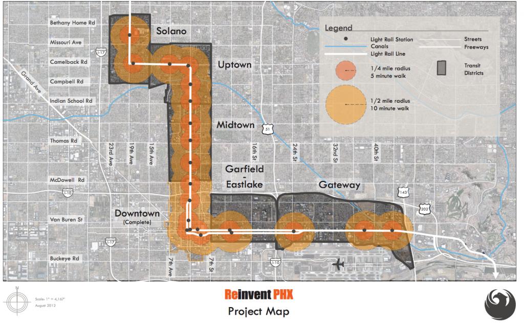 Reinvent Phoenix Plan Area