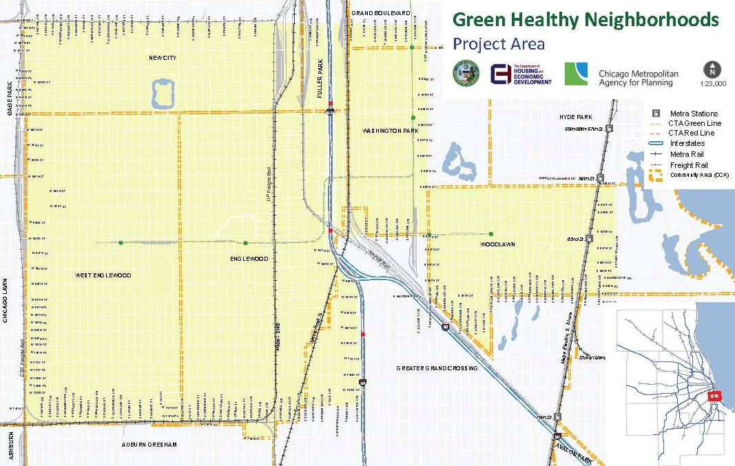 Green Healthy Neighbrhoods Project Area