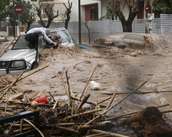 Catastrophic flood in Athens