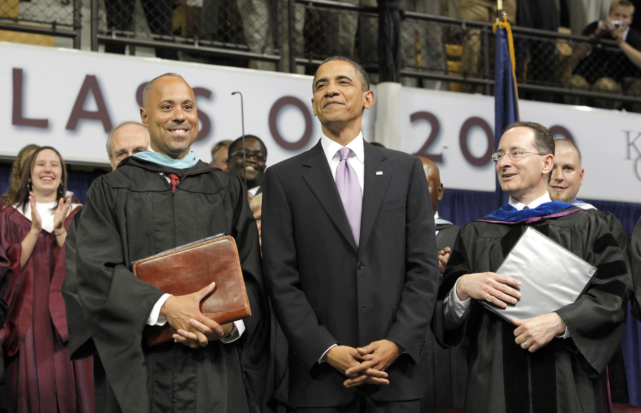 President Obama speaks at Kalamazoo Central's Commencement in 2010