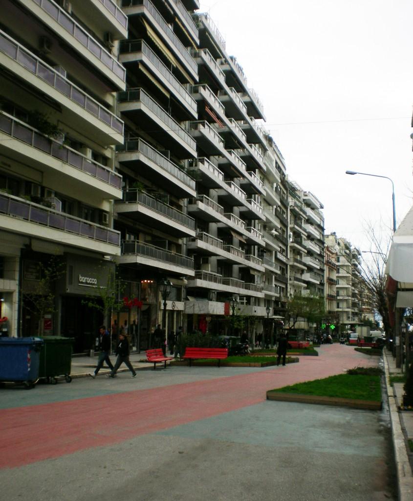 St. Sophia's Street- pilot pedestrianization