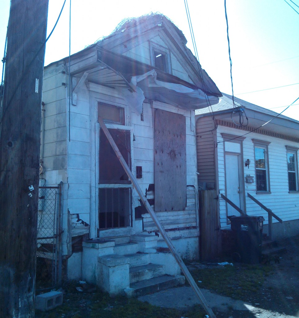 Blighted Property in the Seventh Ward