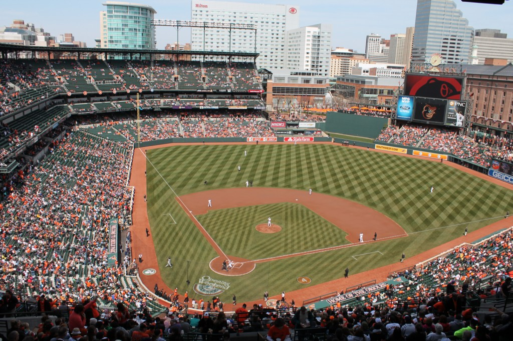 Oriole Park at Camden Yards, Baltimore, Maryland