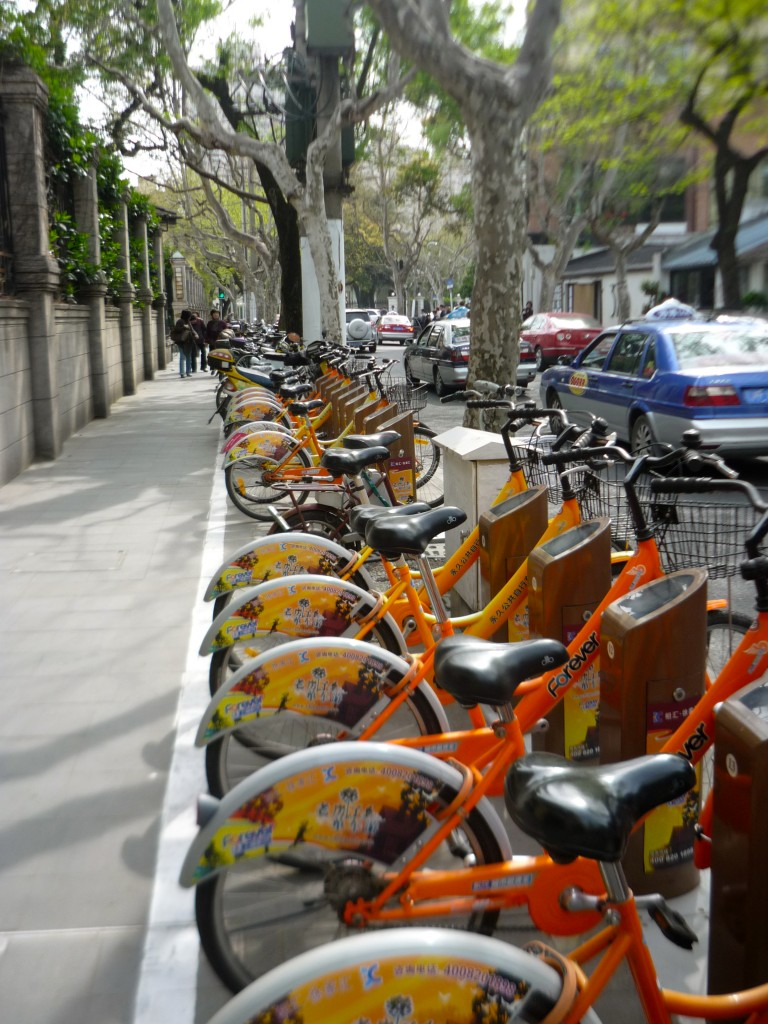 A Bike-Friendly Future on the Way for Shanghai, China?